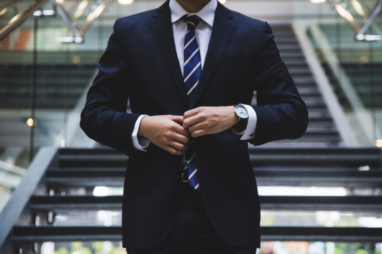 president chemise cravate